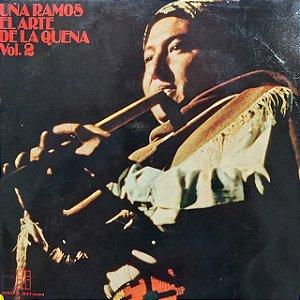 LP - Uña Ramos – El Arte De La Quena Vol. 2 (Importado Argentina)