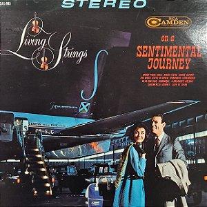 LP - Living Strings – On A Sentimental Journey (Importado UK)