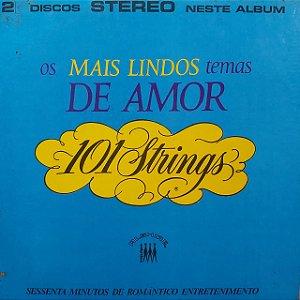 LP - 101 Strings - Os MAis Lindos Temas de Amor (Vários Artistas)