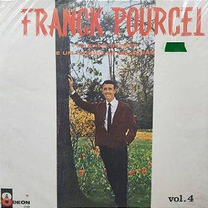 LP - Franck Pourcel e Sua Grande Orquestra - E Um Mundo de Melodias - Volume 4