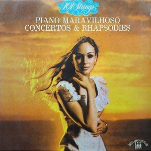 LP - 101 Strings - Piano Maravilhoso Concertos e Rhapsodies