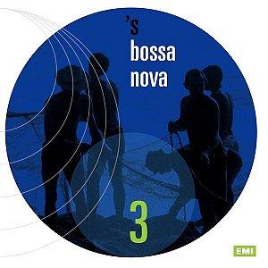 CD - 's Bossa Nova 3 (Vários Artistas)