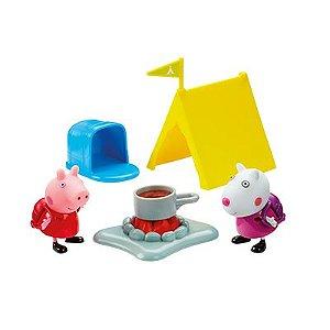 d5c3d2e758 Peppa Pig - Acampamento - Hora de comer