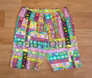 Short Estampado Mosaico