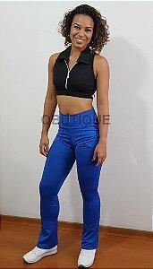 Calça Legging Bailarina  Azul Royal