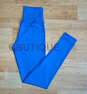 Calça Legging Básica Suplex Azul Royal