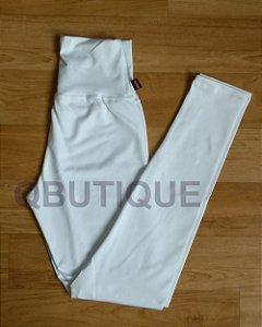 Calça Legging Básica Suplex Branco