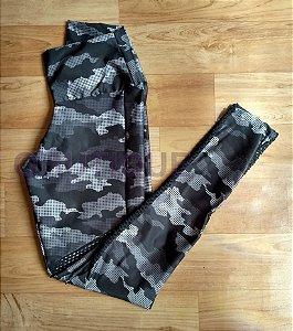 Calça Legging Fitness Camuflada