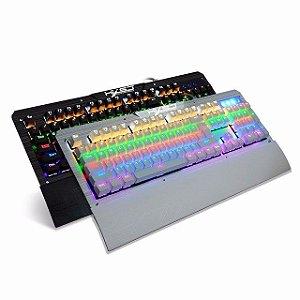 Teclado Mecanico RGB 2600 - Switch Blue (MODELO BRANCO)