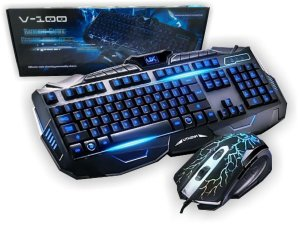 Kit Gamer Mouse e Teclado V100