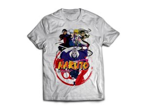 Camiseta do Anime Naruto - Guerra Ninja