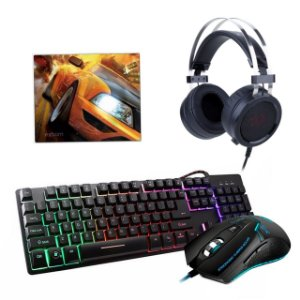 Kit Gamer Osiris -  Com teclado RGB