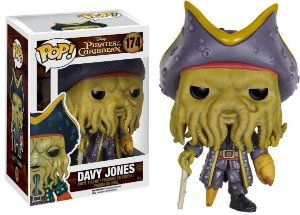 Funko Pop Davy Jones - Piratas do Caribe