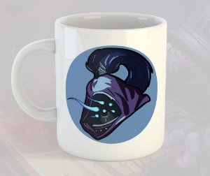 Caneca Jax League of Legends