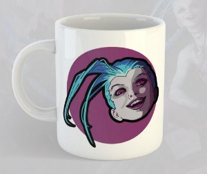 Caneca jinx League of Legends