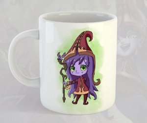 Caneca Lulu Chibi League of Legends
