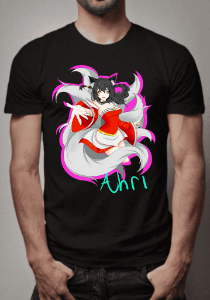 Camiseta Beautiful Ahri League of Legends