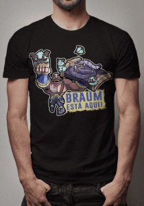 Camiseta Braum Está Aqui League of Legends