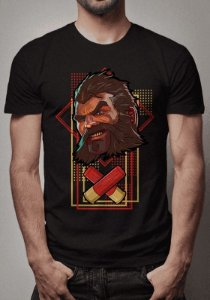 Camiseta Bullet Graves League of Legends
