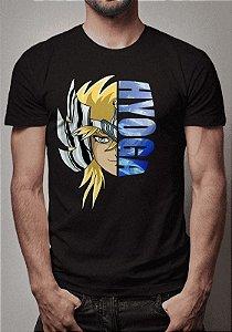 Camiseta Hyoga Cavaleiros do Zodíaco