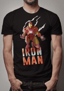 Camiseta Iron Man Marvel