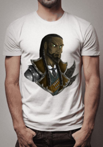 Camiseta Lucian Warrior League of Legends