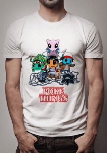 Camiseta Pokethings Stranger Things