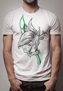 Camiseta Riven Sketch League of Legends