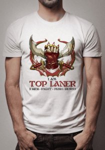 Camiseta Top Laner League of Legends