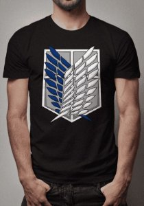 Camiseta Tropas Exploratórias Attack On Titan