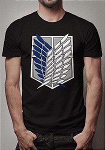 Camiseta Tropas Exploratórias Attack On Titan
