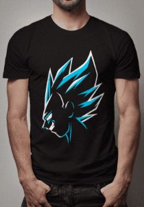 Camiseta Vegeta Blue Dragon Ball