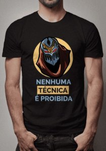 Camiseta Zed League of Legends