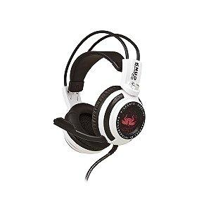 HEADSET GAMER KNUP KP-400 Áudio 7.1 Branco