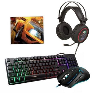 Kit Gamer Osiris - Com Headset 7.1