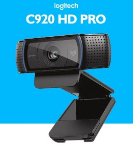 WebCam Logitech C920 Pro Full HD Gravações em Video Widescreen 1080p
