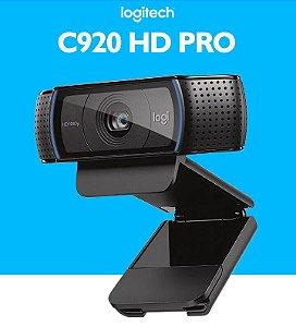 WebCam Logitech C920 Pro Full HD Gravações em Video Widescreen 1080p