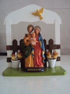 Enfeites de porta Sagrada Família