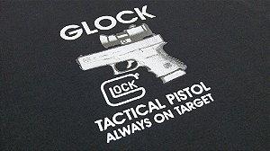 Camiseta FoxBravo - estampa Glock Tactical Pistol