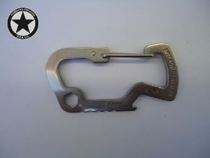 Mini Carabiner Snap Fox E.D.C.