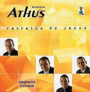 Kits de ensaio - Quarteto Athus - Cd  Retratos de Jesus