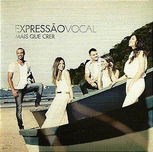 Kits de Ensaio - Expressão Vocal - CD Completo - Mais que crer