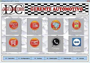 Gerente Automotivo com Nota Eletrônica