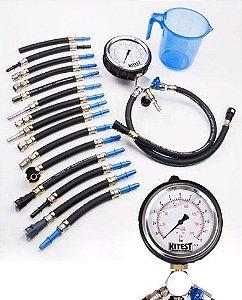 Manômetro para medir pressão da bomba de combustível