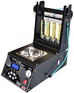 Máquina de teste e limpeza de injetores