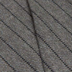 Tecido Algodão Rustico Linhas Cinza - Turq 55