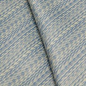 Tecido Jacquard Mescla Azul e Bege - Flórida 30