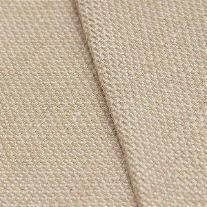 Tecido algodão Jacquard Impermeabilizado Liso Cru Escuro  - Aus 02