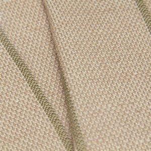 Tecido algodão Jacquard Impermeabilizado Bege Com Linhas - Aus 12