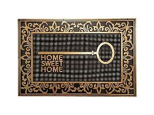 Capacho Iron Home Gold 40x60cm 100% Emborrachado - 02